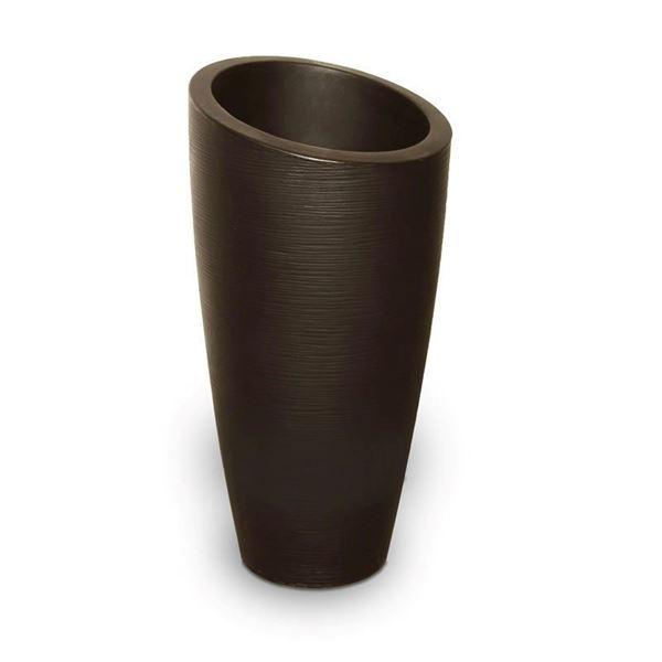 "Modesto 32"" Tall Planter with Double-Wall Polyethylene Frame - 9 lbs."