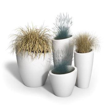 Modesto Planter Bundle with Polyethylene Frames