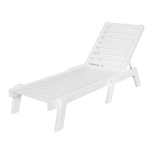 Polywood Captain Recycled Plastic Chaise Lounge