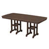 Polywood Nautical Rectangle 37x72 Inch Dining Table