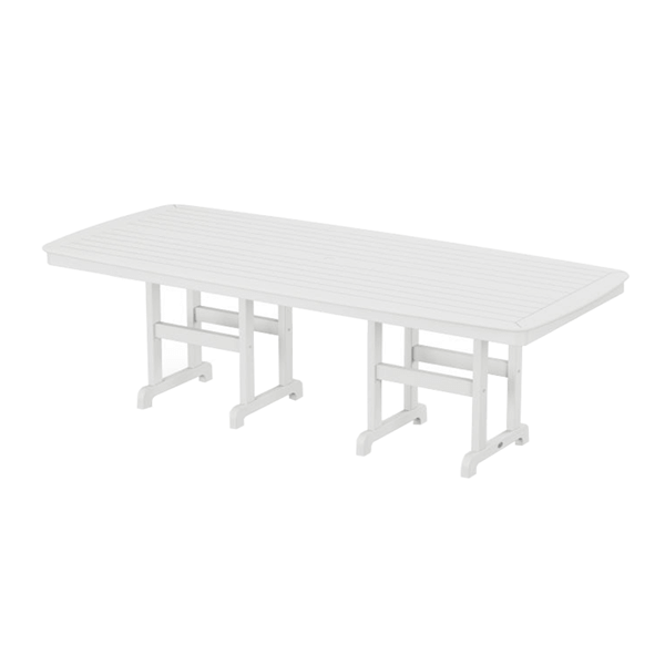 Polywood Nautical Rectangle 44x96 Inch Dining Table