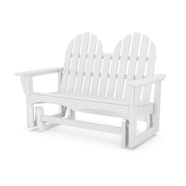 Polywood Adirondack Recycled Plastic 48 Inch Glider Bench
