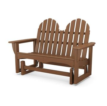 Polywood Adirondack Recycled Plastic Glider Chair