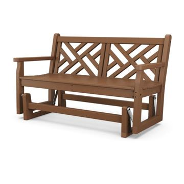 Polywood Chippendale 48 Inch Glider Bench