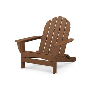 Polywood Curved Back Adirondack Armchair