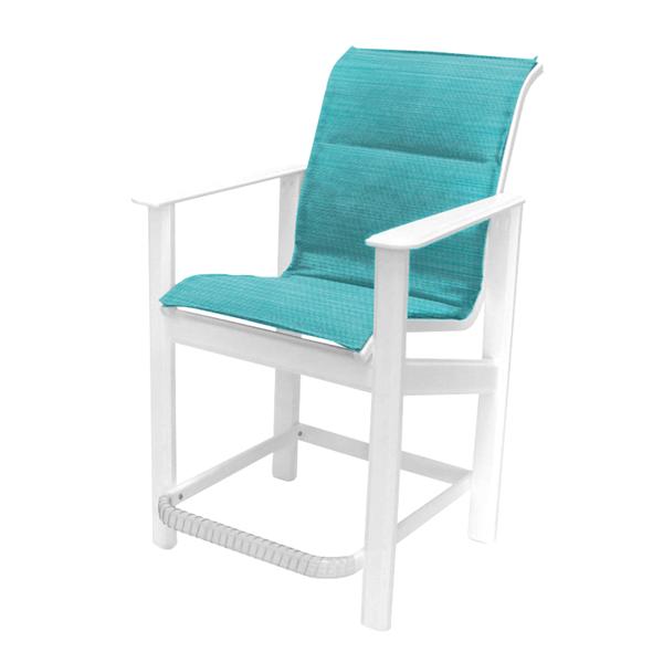 Hampton Balcony Chair Fabric Sling with Marine Grade Polymer Frame