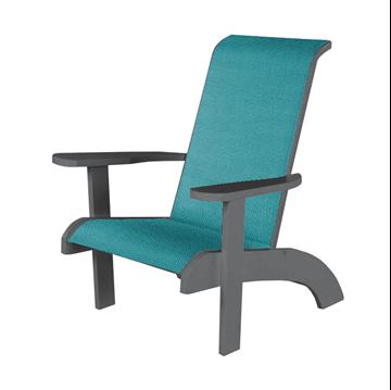 Sling Adirondack Chair with Marine Grade Polymer Frame