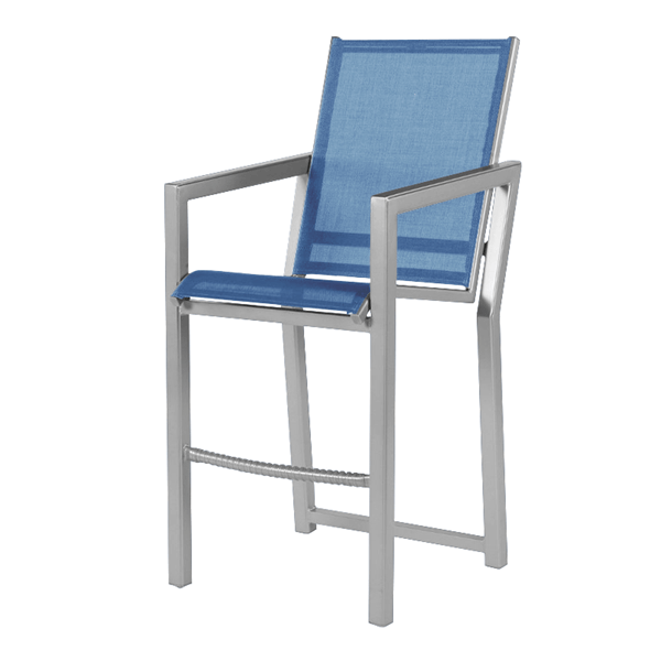 Madrid Balcony Chair Fabric Sling with Aluminum Frame