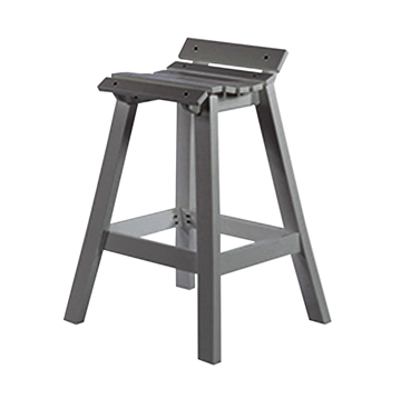 Kingston Commercial Solid Marine Grade Polymer Balcony Stool