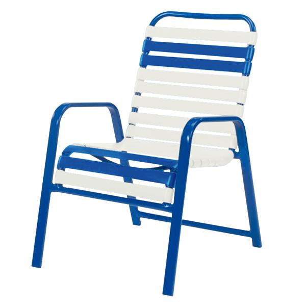 Bermuda Vinyl Strap Dining Chair
