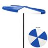 Umbrella 6 foot Round Pinwheel Fiberglass Top