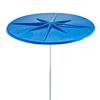 Umbrella 7 1/2 foot Fiberglass with 1 1/2 Inch Galvanized Pole