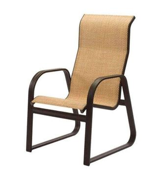 Cabo Sled Style Sling Dining Chair