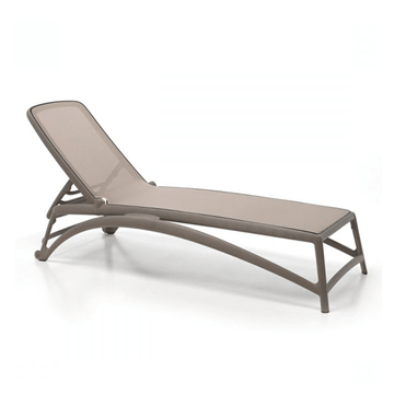 Atlantico Sling Plastic Resin Chaise Lounge for Pool Deck and Patios
