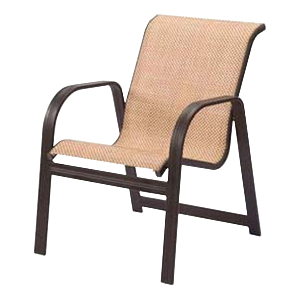 Cabo Sling Chaise Lounge - Aluminum Frame