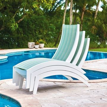 Telescope Dune Sling Stacking Hydro Chaise Lounge
