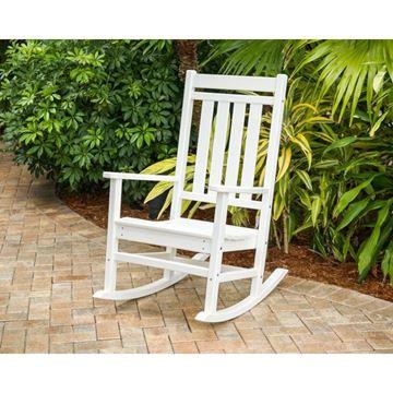 Estate Rocking Chair WHT