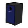 32-Gallon Plastic EarthCraft Side-Load Recycling Container - 91 lbs.