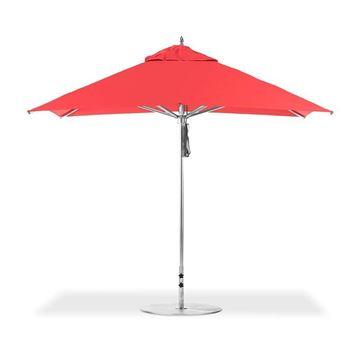 10 ft. Square Premium Center Post Umbrella with Marine Grade Fabric