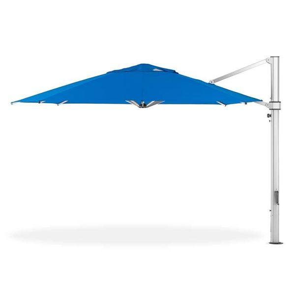 13 Foot Octagonal Aluminum Cantilever Umbrella with Marine Grade Fabric