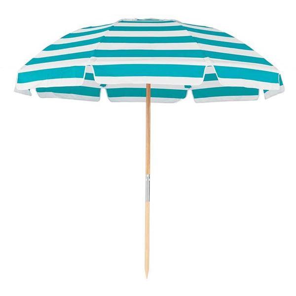 7.5 Foot Diameter Fiberglass Beach Umbrella