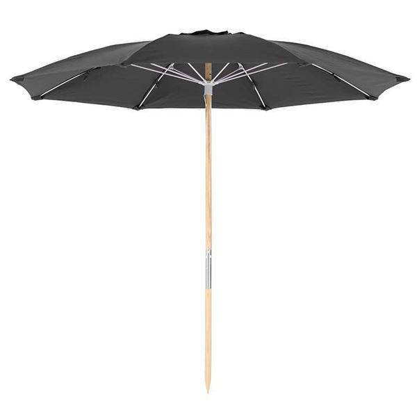 7.5 Foot Diameter Fiberglass Beach Umbrella with Acrylic Canopy