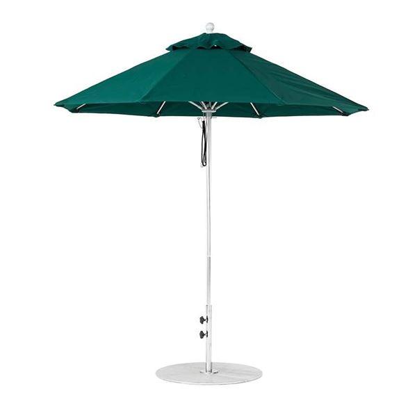 7.5 Foot Octagonal Fiberglass Market Umbrella with Marine Grade Fabric