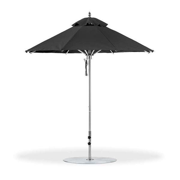 7.5 Foot Octagonal Aluminum Market Umbrella with Marine Grade Fabric