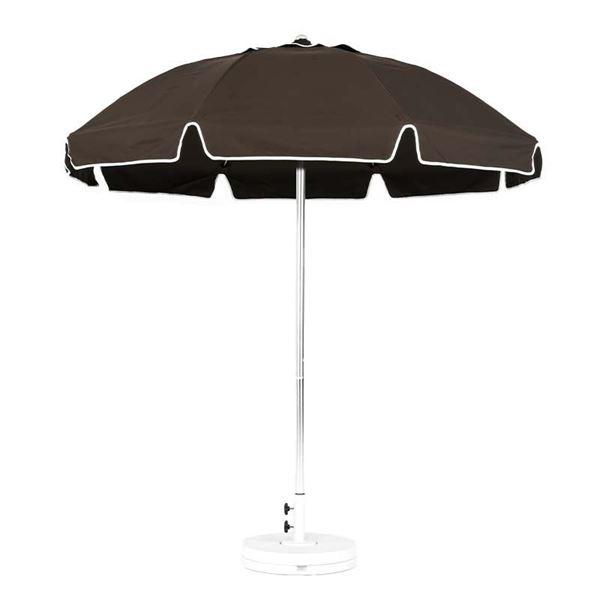 7.5 Foot Fiberglass Rib Patio Umbrella with Vent and Valence