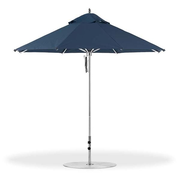 9 Foot Octagonal Aluminum Market Umbrella with Marine Grade Fabric