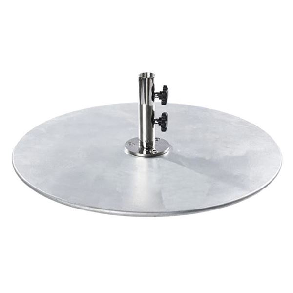 100 lb. Galvanized Steel Umbrella Base