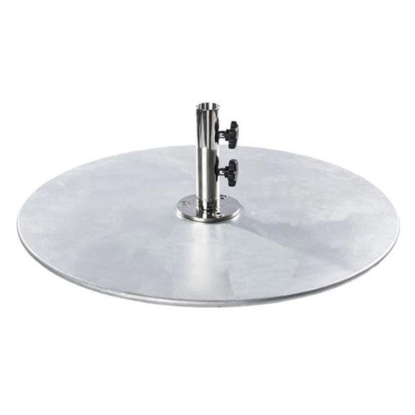 185 lb. Galvanized Steel Umbrella Base