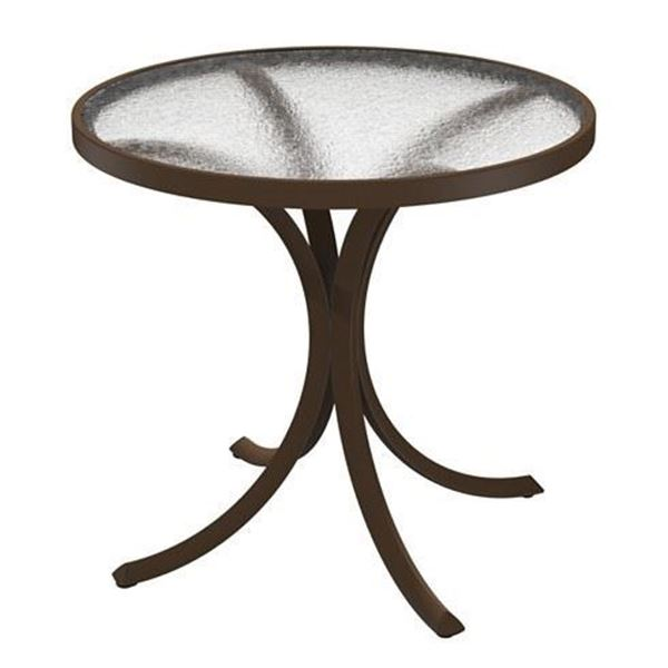 """30"""" Round Acrylic Dining Table"""