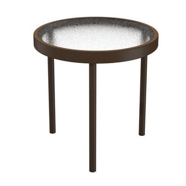 """16"""" Round Acrylic Tea Table"""