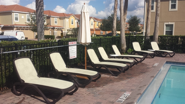 How To Clean Commercial Sling Pool Deck And Patio Furniture